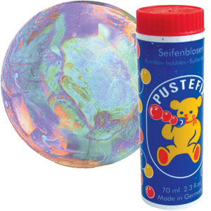 Pustefix Rainbow Bubbles
