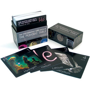 Periodic Table Photo Card Deck