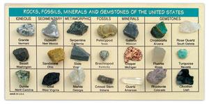 Rocks, Fossils, Minerals & Gems