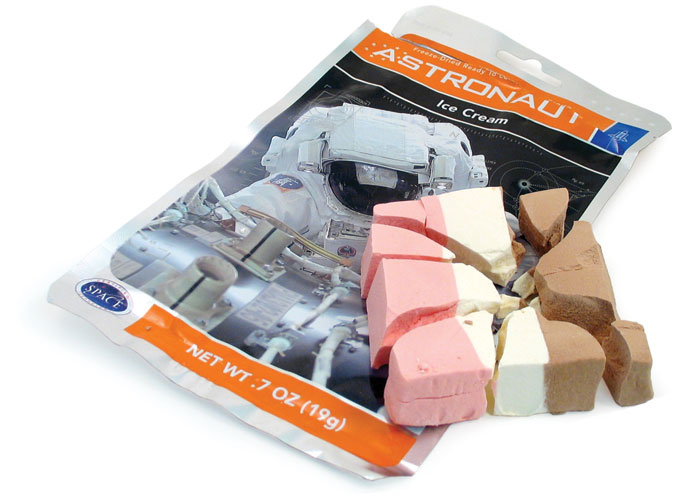 astronaut ice cream in space -#main