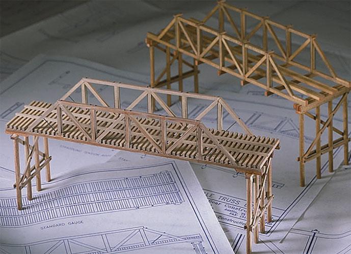 Physics Balsa And Basswood Bridge Building Kits