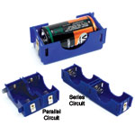 D Cell Battery Holders