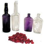 Irradiated Antique Bottles