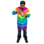 Tie-Dyed Lab Coat - Tie-Dye Lab Coat (medium)