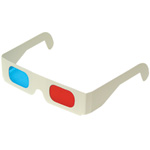 Red / Blue 3-D Glasses (5/pk)