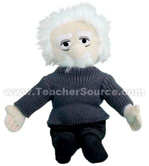 Einstein Plush Figure