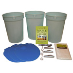 Tap My Trees Plastic Bucket Starter Kit (3 Buckets)
