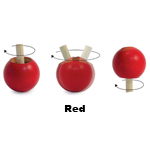 Inverting Pop Tops - Inverting Pop Tops - Red (bag of 5)